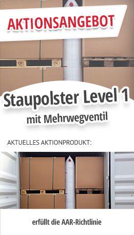 Staupolster Level 1 mit Mehrwegventil