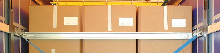 Drążki rozporowe i belki ładunkowe