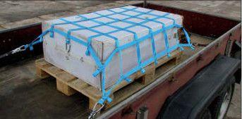 Eigenschaften von hochwertigen Ladungssicherungsnetzen