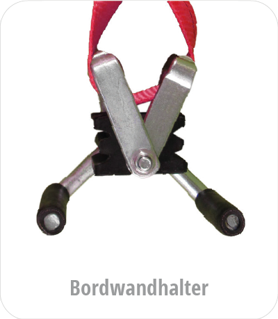 Spanngurt - Boardwandhalter
