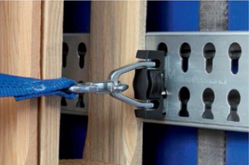 Sicherung von Rollcontainern