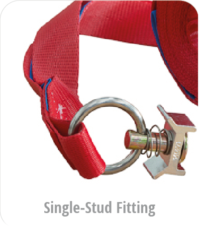 Spanngurt - single stud fitting