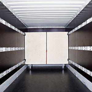 Logistik in Kofferfahrzeugen