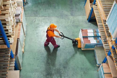 Gummipuffer für die Transport- und Logistikbranche
