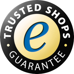 The reason why shopping in our shop is secure. Certified with Trusted Shops since 2011.