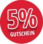 5% Gutschein